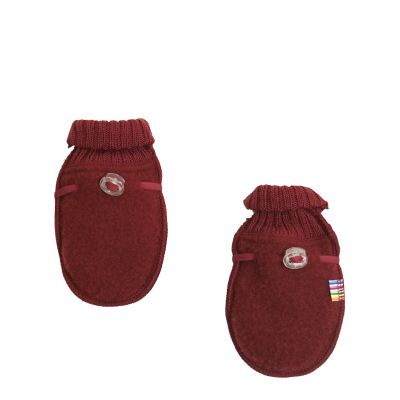 Baby mittens Red