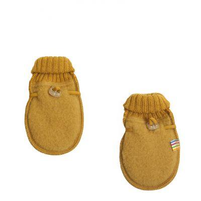 Baby mittens Yellow