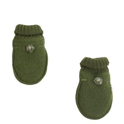 Baby mittens Green