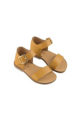 Leather Sandals Honey