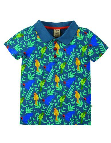 Penwith Polo Shirt Indian Parakeets