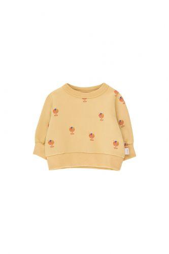 Ice Cream Cup Baby Sweatshirt Sand