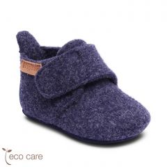 Baby Wool Home Shoe Blue