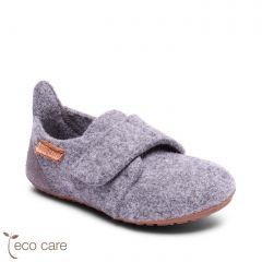 Casual Wool Home Shoe Grey