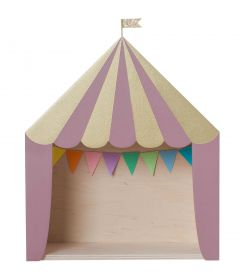 The Big Top Circus Shelf Pink