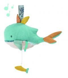 Muziekknuffel Walvis