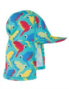 Little Swim Legionnaires Hat Pacific Aqua Parrots