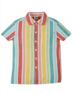 Jamaal Shirt Rainbow Stripe