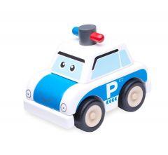 Politieauto bouwset
