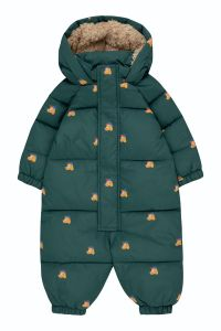 Dogs Padded Overall Stormy Blue/Honey