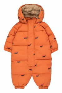 Ants Padded Overall True Brown/Ink Blue