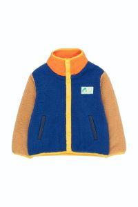 Color Block Polar Jacket Ultramarine/Clay