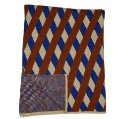 Knitted Blanket Cross Knitwear