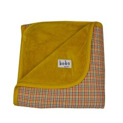 Blanket Blond Check