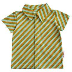 Boys Shirt Diagonal Blue