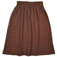 Chaga Skirt Brown Check
