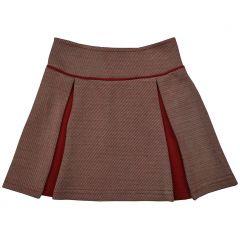 Chloe Skirt Diagonal Stripes