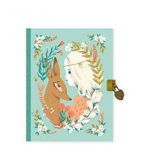 Dagboek met slotje Lucille