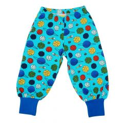 Small Planets Blue Atoll Baggy Pants