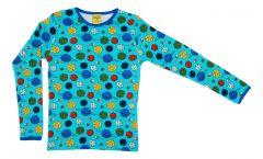 Small Planets Blue Atoll Longsleeve T-shirt