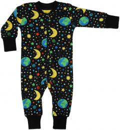 Mother Earth Black Zipsuit