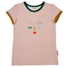 Face T-shirt Peach