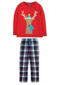 Caden Check PJs Tango / Reindeer