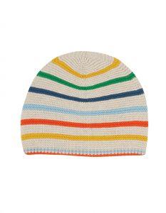 Harlen Knitted Hat Rainbow Stripe