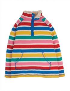 Snuggle Fleece Rainbow Multi Stripe