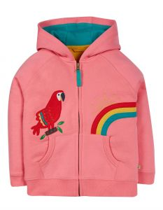 Dorothy Hoody Mid Pink Parrot
