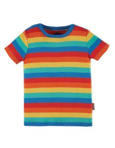 Favourite T-shirt Rainbow Stripe