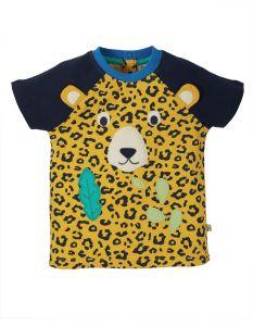 Happy Raglan T-shirt Leopard Spot