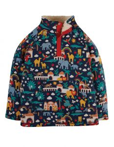 Snuggle Fleece Indigo India
