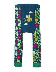 Little Knitted Legging Flower Bee