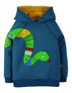 Hedgerow Hoody India Ink Snakes