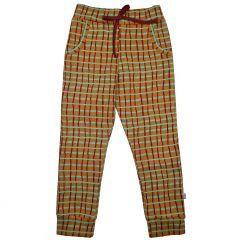 Girls Pants Raster Green