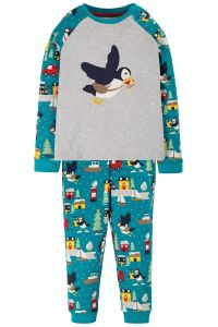 Jamie Jim Jams Grey Marl / Puffin
