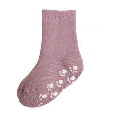 Wollen Anti-Slip Sokken Roze