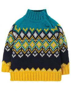 Fyfe Fairisle Jumper Bumble Bee Fairisle