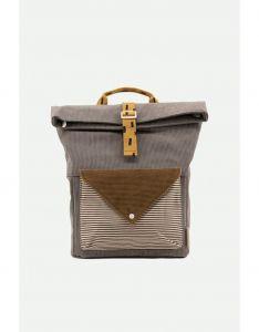 Large Backpack Corduroy Envelope Grijs