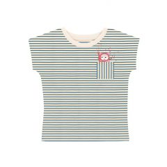 Diver Cat Striped T-shirt Kind