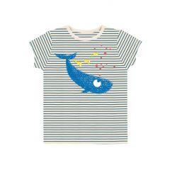 Whale Striped T-shirt