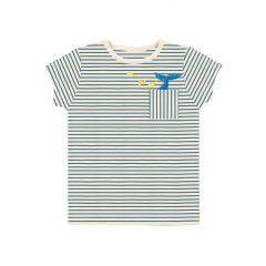 Whale Striped T-shirt Kind