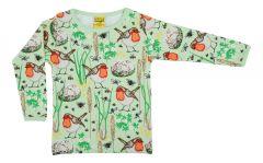 Robin - Nile Green - Long Sleeve Top