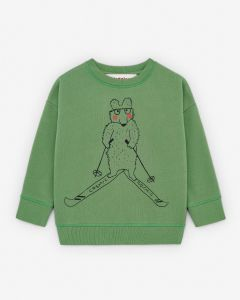 Sweatshirt Skiing Bear
