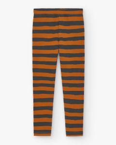 Slim Pants Stripes Brown&Black