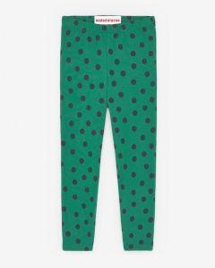 Slim Pants Minidots Green&Black