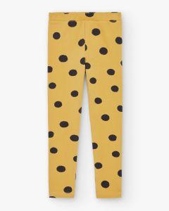 Slim Pants Dots Yellow&Black