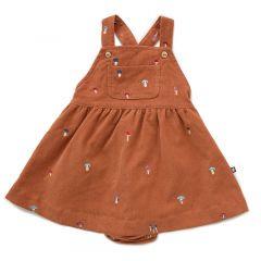 Worker Overall Dress Bloomers Autumnal Mushroom