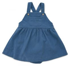 Worker Overall Dress Bloomers Midnight Blue